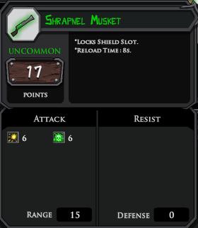 Shrapnel Musket profile