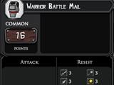 Warrior Battle Mail