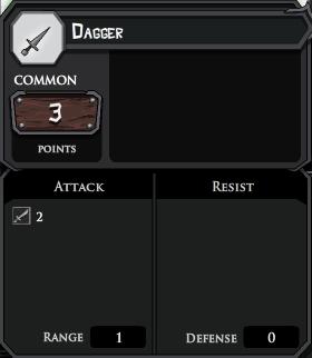 Dagger profile