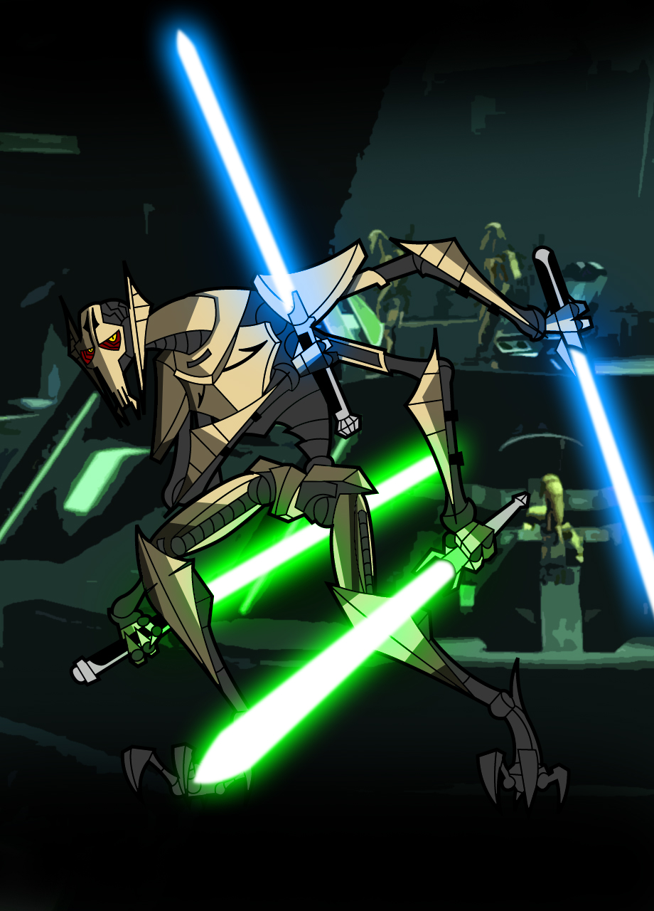 General Grievous Clone Wars Battle Droids Wiki Fandom