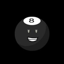 8-Ball(BFDI2)Pose