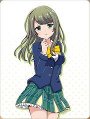 Tokiwa Kurumi Card One