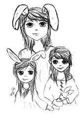 Akkey and family