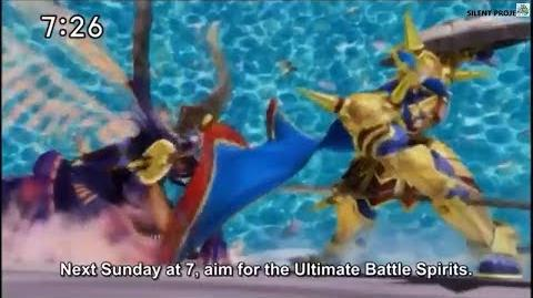 Battle Spirits Saikyo Ginga Ultimate Zero episode 22 Preview - HD-1
