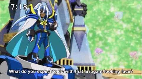Battle Spirits Saikyo Ginga Ultimate Zero episode 9 part 2 - HD