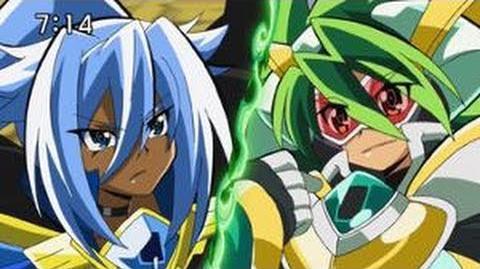 Battle Spirits Saikyo Ginga Ultimate Zero episode 12 part 1 - HD