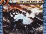 The Giant's Stamp Lake
