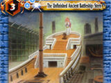 The Unfinished Ancient Battleship:Stern