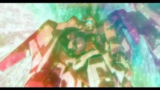 Setsuna becomes First Innovator Trans-Am Burst GUNDAM 00 HD
