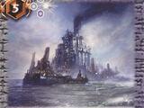 The Floating Island on the Mercury Sea