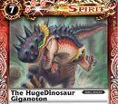 The HugeDinosaur Giganoton
