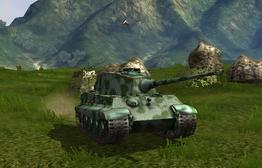 Charging Tiger II