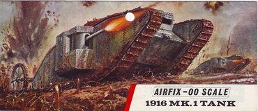 Type 3 1916 MK1 tank