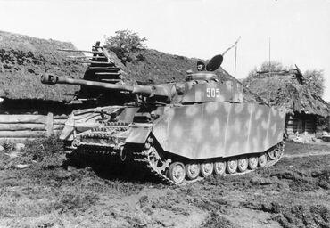 Panzer IV Asuf H