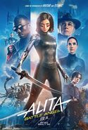 Battle Angel Alita RealD3D Poster