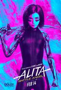 Alita Battle Angel Dolby Poster