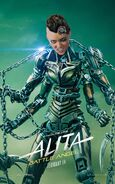 Alita Battle Angel Character Poster 10