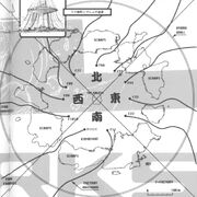 Gunnm Works vol. 1 p. 4 - Scrapyard map