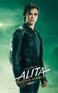 Alita Battle Angel Character Poster 07