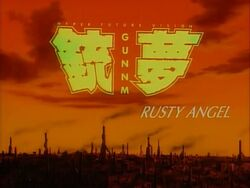 Rusty Angel title