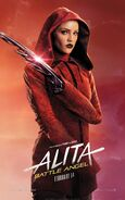 Alita Battle Angel Character Poster 08