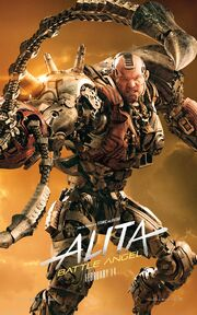 Alita Battle Angel Character Poster 06