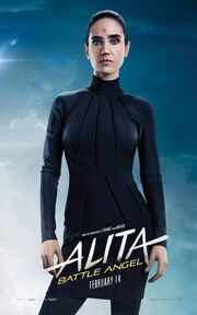 Alita Battle Angel Character Poster 03