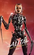 Alita Battle Angel Character Poster 09