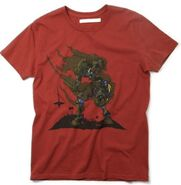 Heroism Den shirt - red