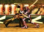 Togo vs. Gally - motorball CGI