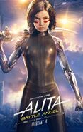 Alita Battle Angel Theatrical Poster