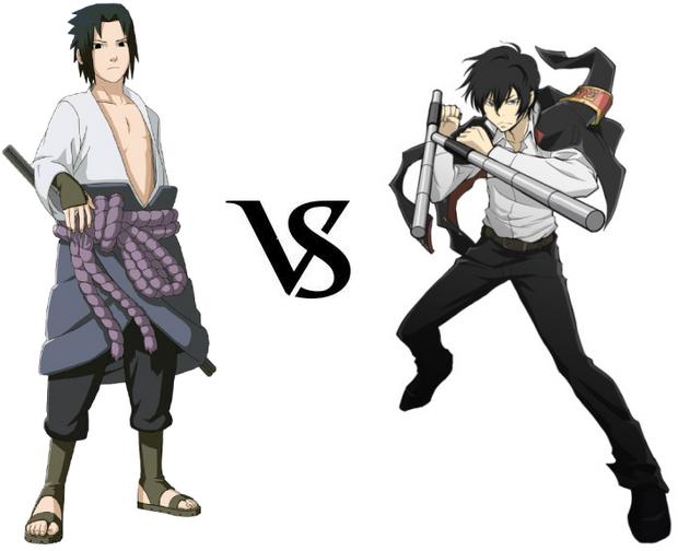 Sasuke vs. Hibari