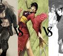 Nikaido vs. Rin vs. Yumin