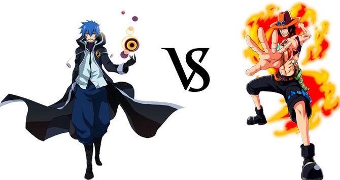 Jellal vs. Ace