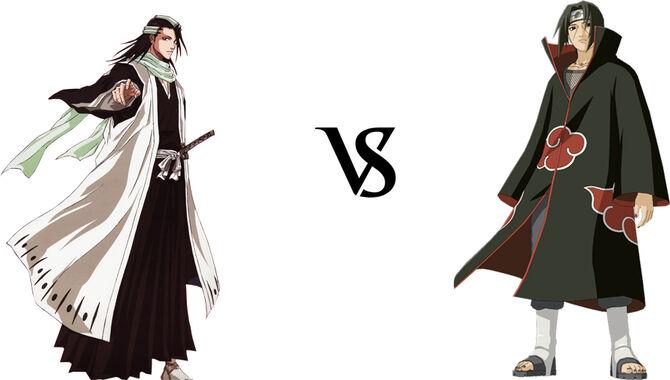 Byakuya vs. Itachi