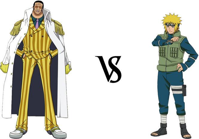 Kizaru vs. Minato