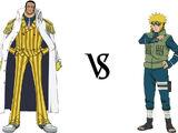 Borsalino Kizaru vs. Minato Namikaze
