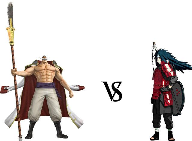 Whitebeard vs. Madara