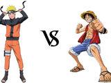 Naruto Uzumaki vs. Monkey D. Luffy