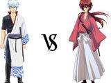 Gintoki Sakata vs. Himura Kenshin