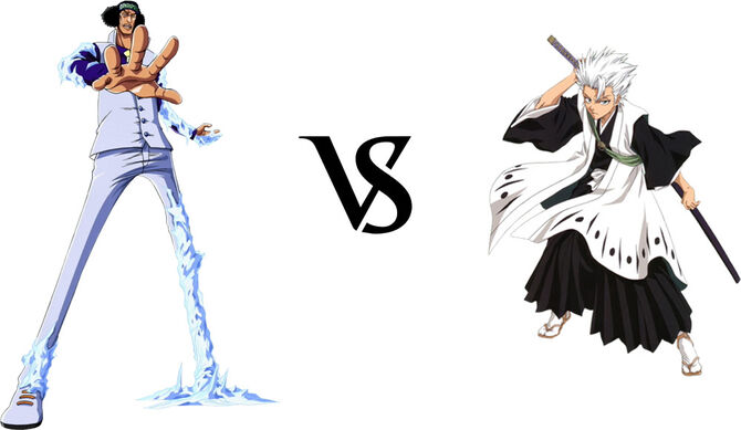 Aokiji vs. Hitsugaya