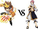 Tsunayoshi Sawada vs. Natsu Dragneel
