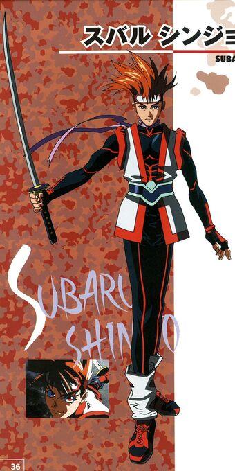 Subaru Shinjo Battle Arena Toshinden Wiki Fandom
