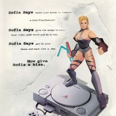 PlayStation ad flyer from September 1995