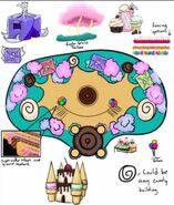 Cupcake concept art