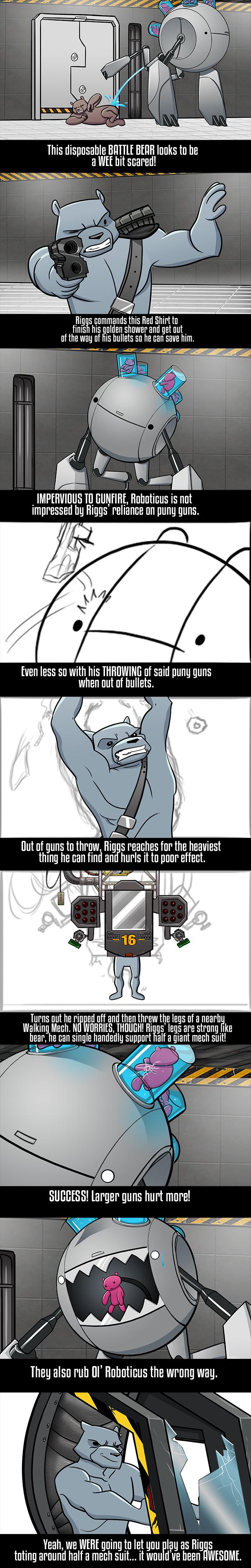 Roboticus Comic Intro