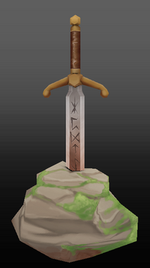 The Sword AND the Stone Model