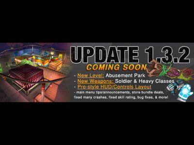Update 1 3 2 coming soon
