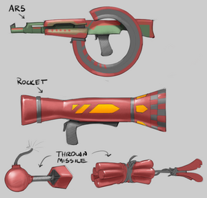 Soldier Weapon