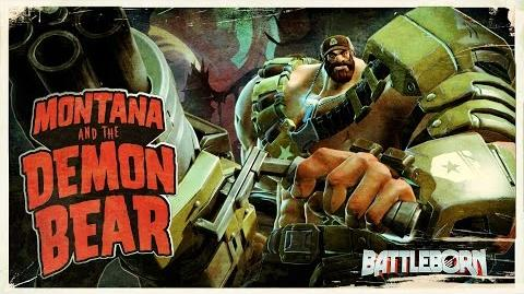 Battleborn Montana and the Demon Bear